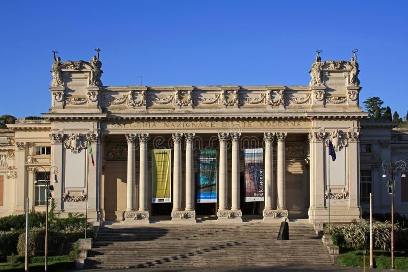 Национальная галерея современного искусства в Риме стоковое изображение rf
