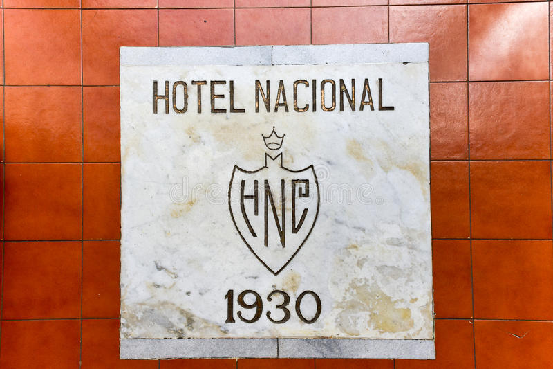 Национальная гостиница - Гавана, Куба стоковое фото