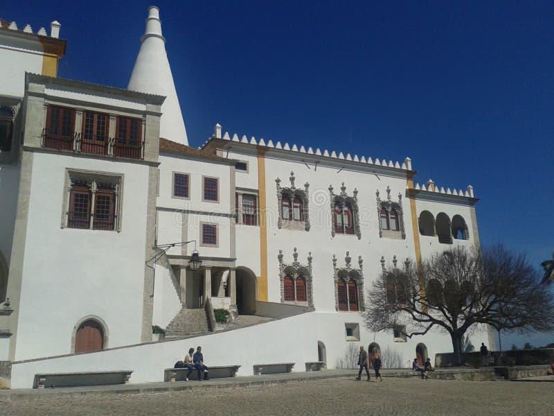 Национальный дворец Sintra стоковая фотография rf