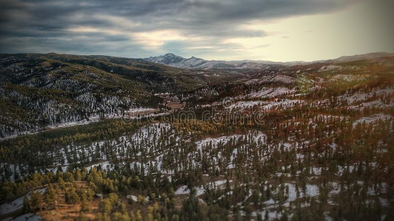 Национальный лес Pike стоковое изображение