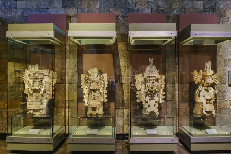 Национальный музей антропологии (Museo Nacional de Antropologia, стоковые фото