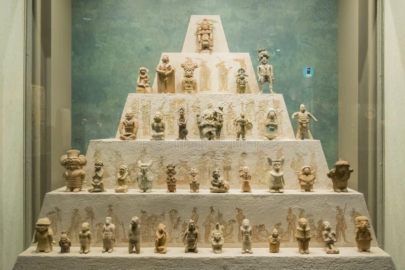 Национальный музей антропологии (Museo Nacional de Antropologia, стоковые фотографии rf