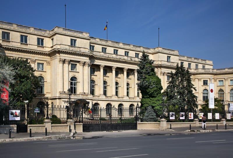 Национальный музей искусства и истории Румынии в Бухаресте Румынии стоковое фото