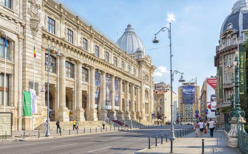 Национальный музей румынской истории в Бухаресте стоковая фотография