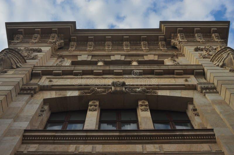 Национальный музей румынской истории стоковая фотография