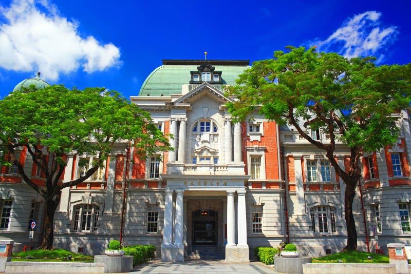 Национальный музей тайваньской литературы, Tainan, Тайваня стоковая фотография