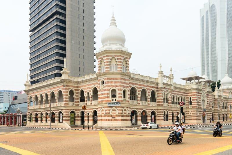 Национальный музей ткани в Куалае-Лумпур стоковые фотографии rf