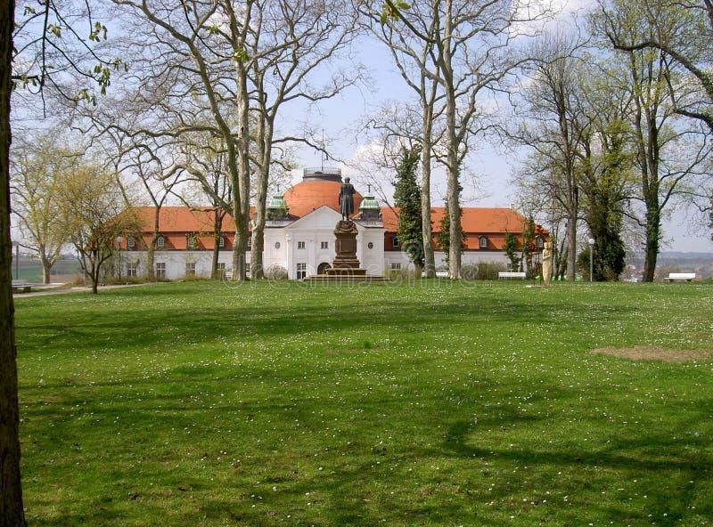 Национальный музей Schiller в Marbach стоковая фотография rf