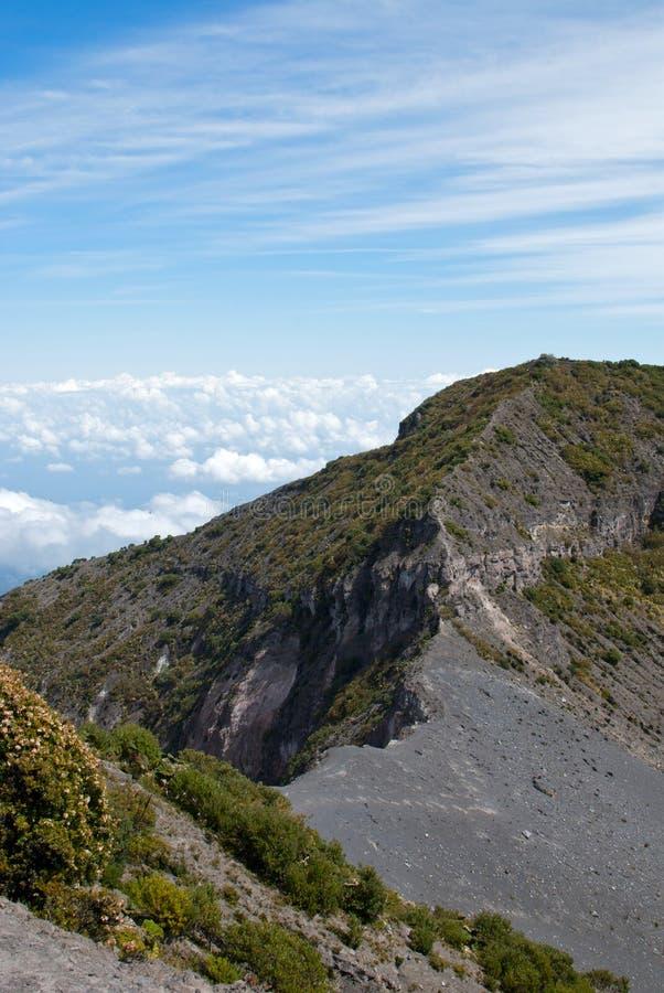 Национальный парк вулкана Irazú стоковая фотография rf