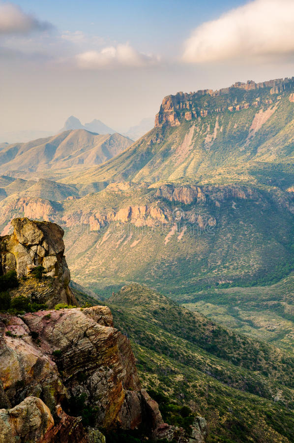 национальный парк загиба большой стоковые фото