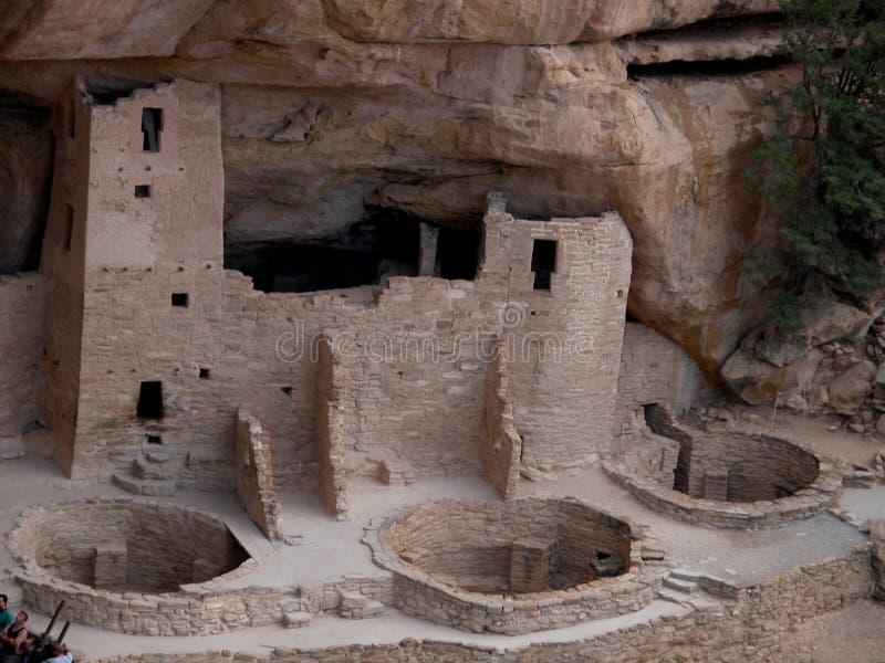 Национальный парк мезы Verde - Колорадо стоковые изображения rf