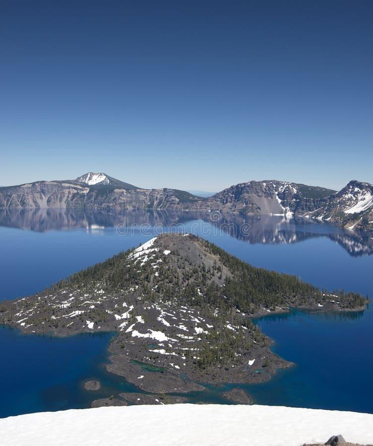 Национальный парк озера кратер, Орегон, США стоковые фото