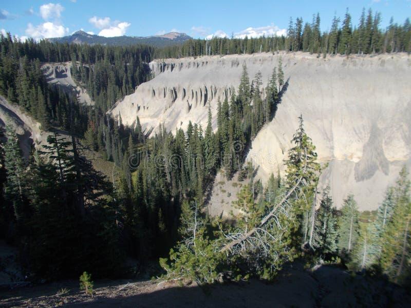 Национальный парк озера кратер стоковые изображения