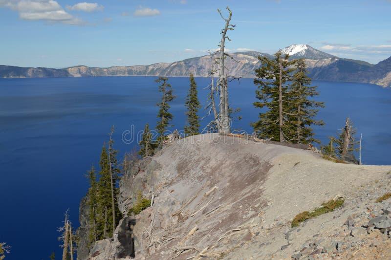 Национальный парк озера кратер стоковые фотографии rf