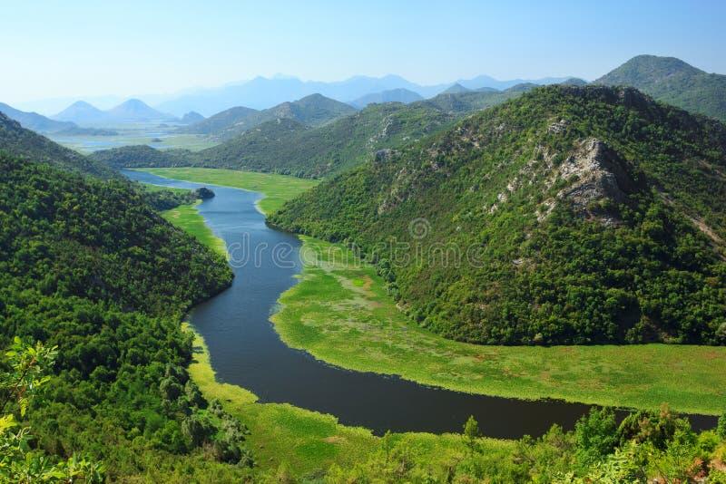 Национальный парк озера Skadar стоковое изображение