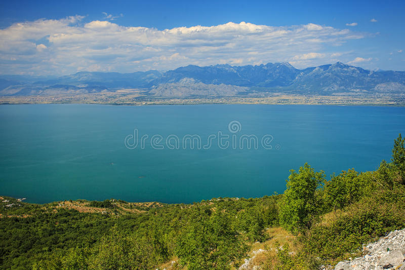 Национальный парк озера Skadar стоковая фотография rf