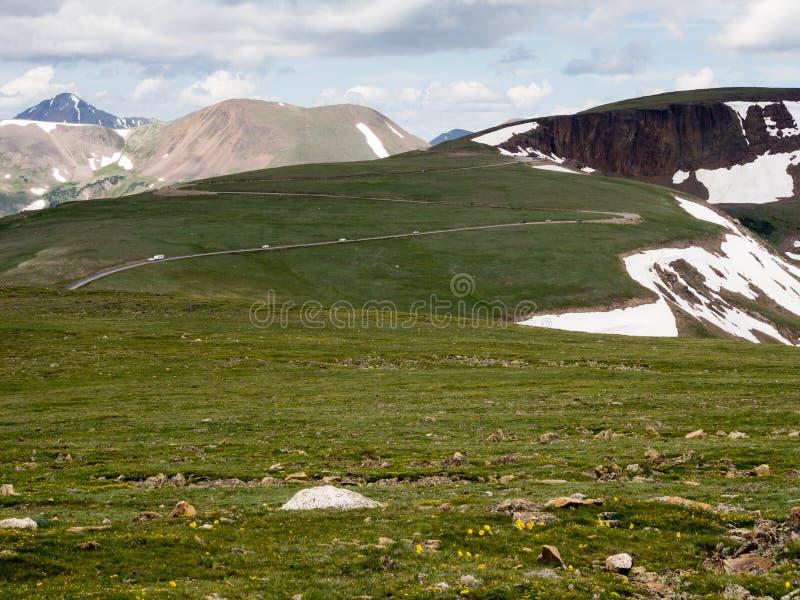 Национальный парк скалистой горы, США стоковая фотография