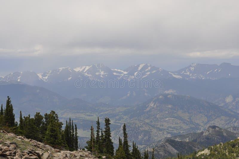 Национальный парк утесистой горы стоковые фотографии rf