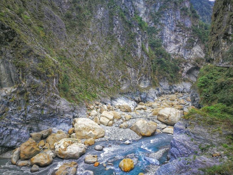 Национальный парк ущелья Taroko стоковые фотографии rf