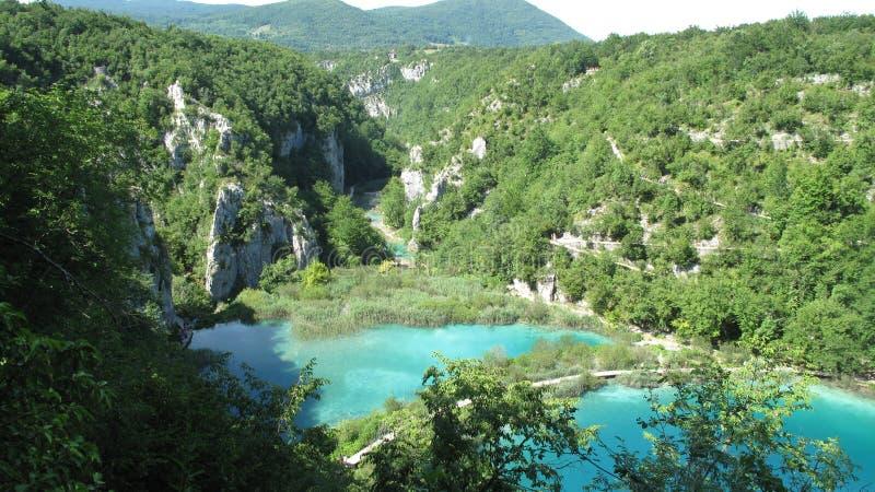 Национальный парк Хорватии, озер Plitvice (2011) [3] стоковые изображения rf
