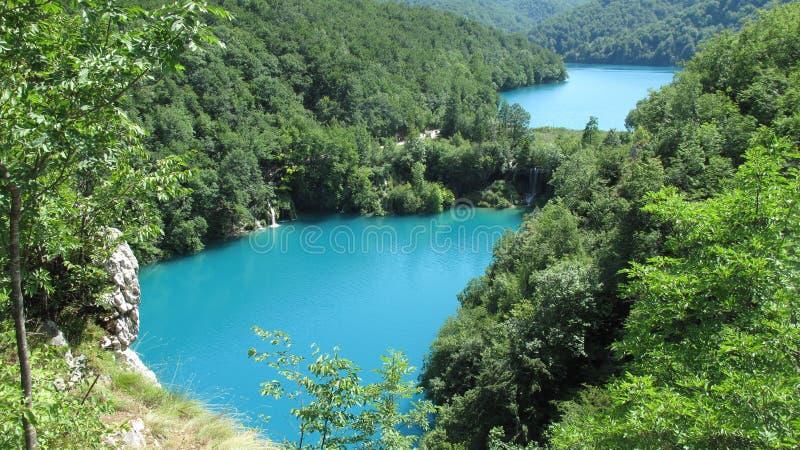 Национальный парк Хорватии, озер Plitvice (2011) [2] стоковое изображение rf
