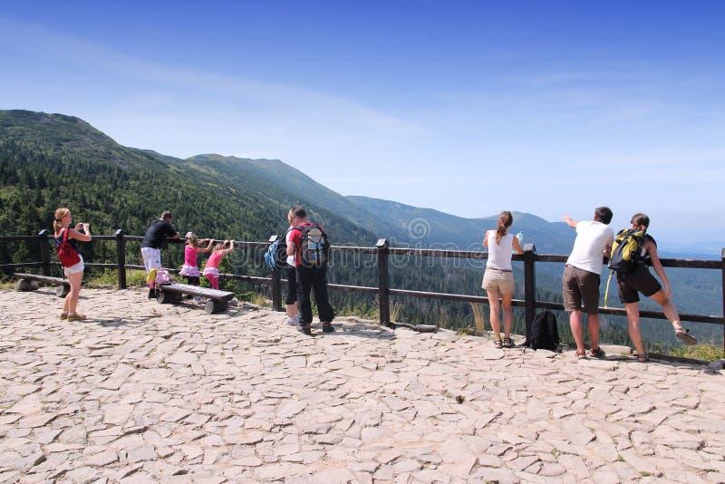 Национальный парк Babia Gora стоковая фотография rf
