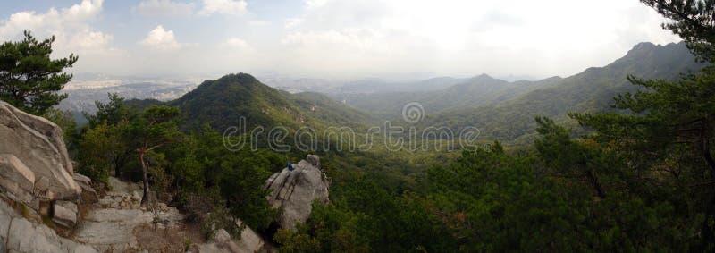 Национальный парк Bukhansan стоковое изображение