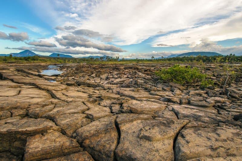 Национальный парк Canaima, Венесуэла стоковые фотографии rf