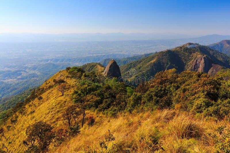 Национальный парк Doi Luang стоковые изображения