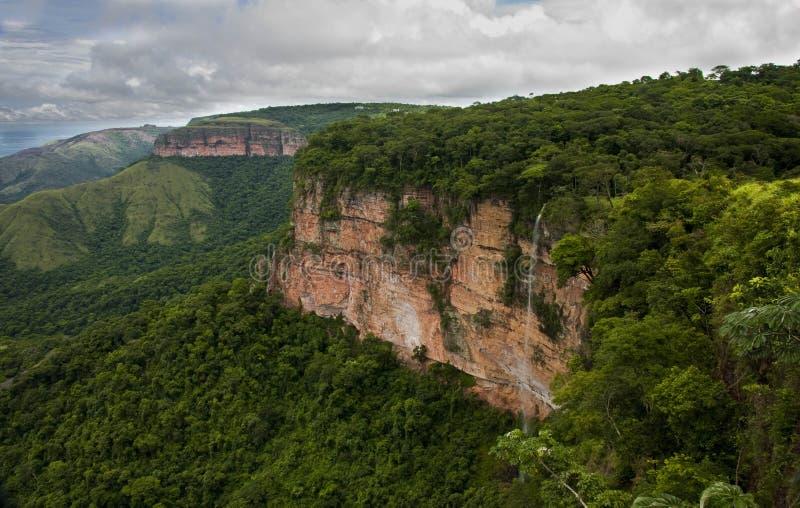 Национальный парк dos Guimaraes Chapada стоковое изображение rf
