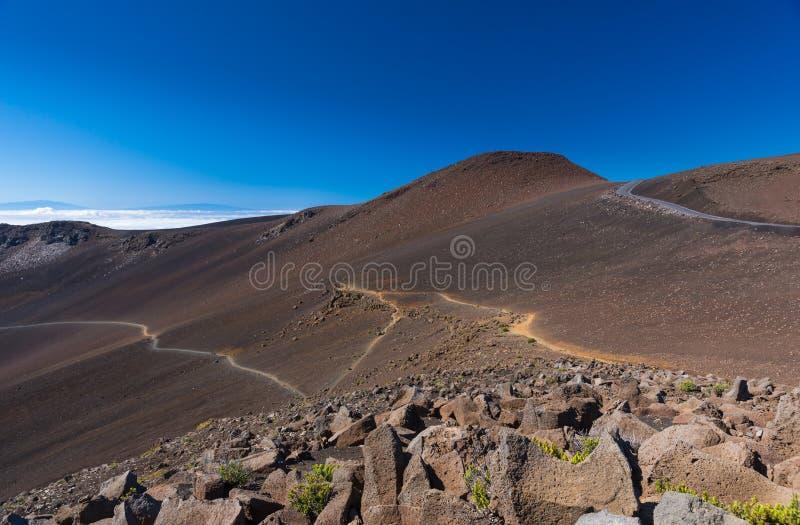 Национальный парк Haleakala стоковые фотографии rf
