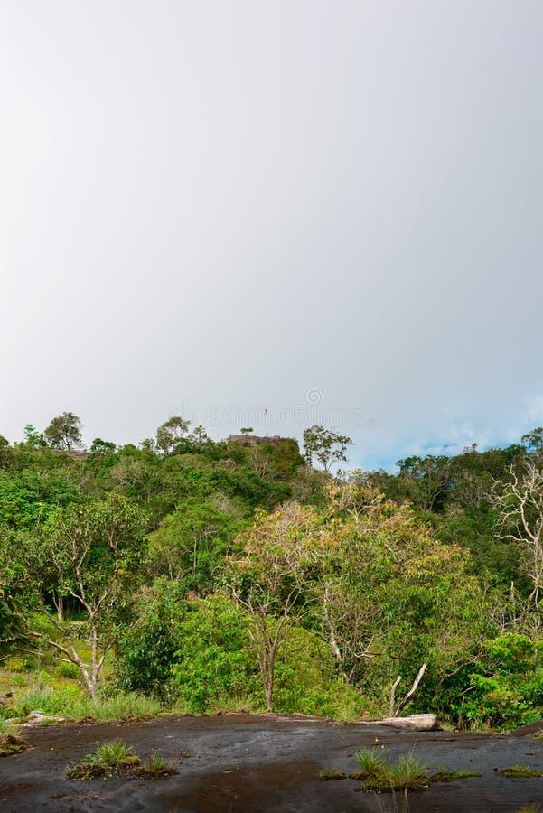 Национальный парк Phu Hin Rong Kla, провинция Phitsanulok стоковые изображения