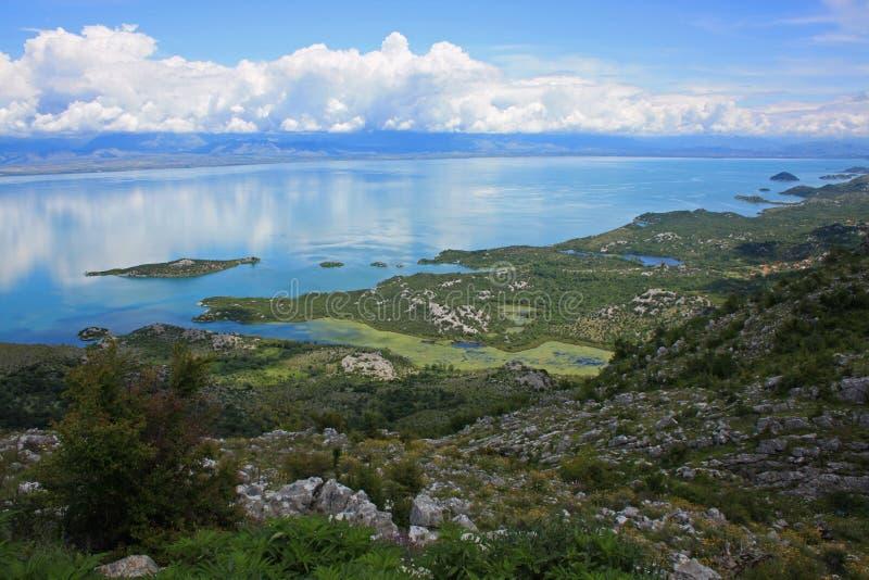 Национальный парк Skadar озера стоковая фотография rf