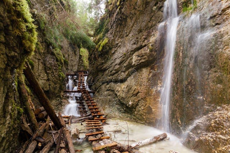 Национальный парк - Slovakian рай, Словакия стоковое фото rf