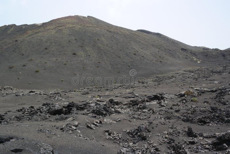 Национальный парк Timanfaya, Лансароте, острова canaria стоковые изображения rf