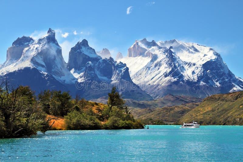 Национальный парк Torres del Paine, Чили стоковая фотография rf