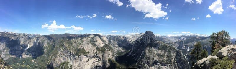 Национальный парк Yosemite, панорамы стоковое фото rf