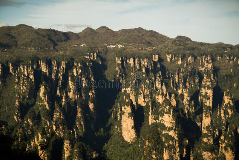 Национальный парк Zhangjiajie стоковое фото rf