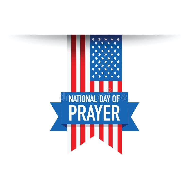 Национальный праздник молит флаг США иллюстрация штока
