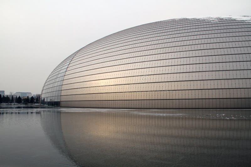 национальный театр Пекин грандиозный стоковая фотография rf