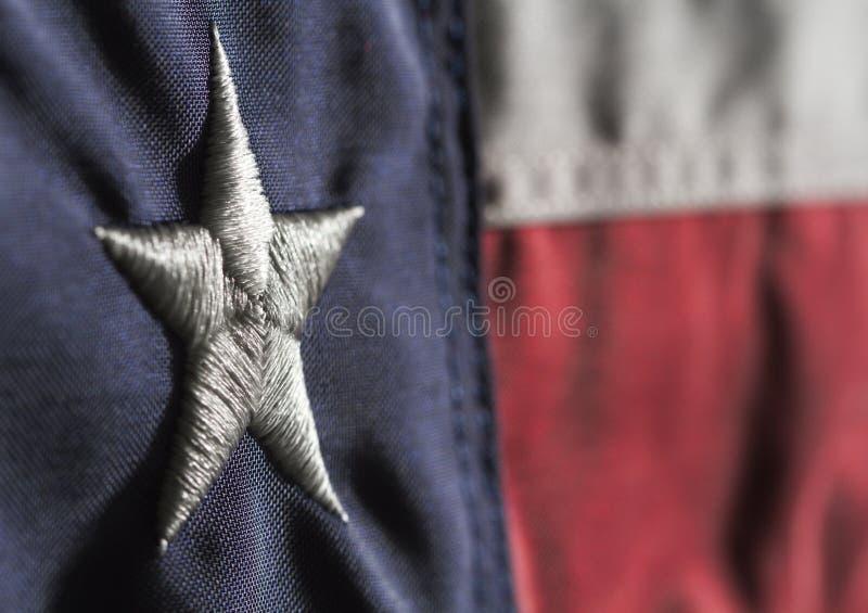 Национальный флаг Техаса стоковая фотография rf