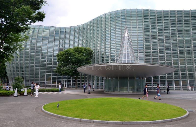 Национальный центр искусства, токио стоковая фотография rf