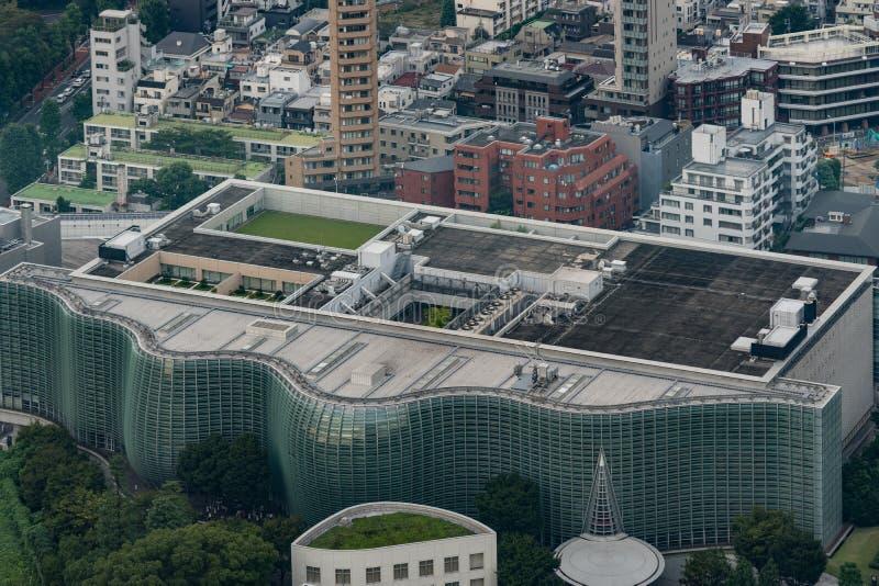 Национальный центр искусства токио стоковое фото rf