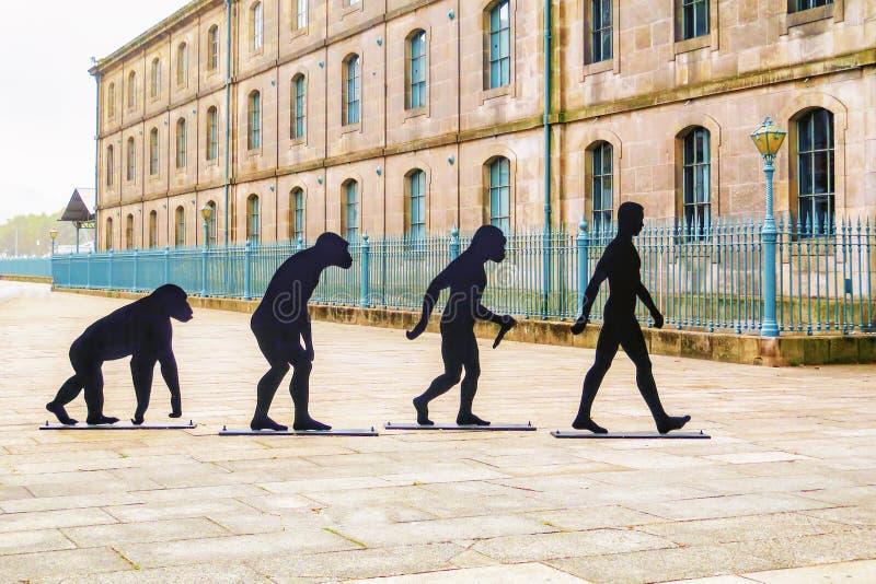 Начала диаграмм человека, Порту, Португалии стоковые изображения rf