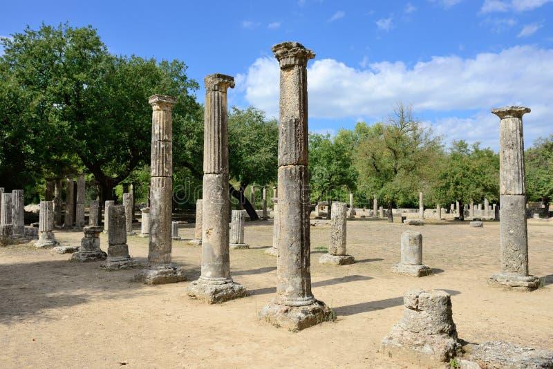 Начало Олимпии Греции Олимпийских Игр стоковая фотография rf