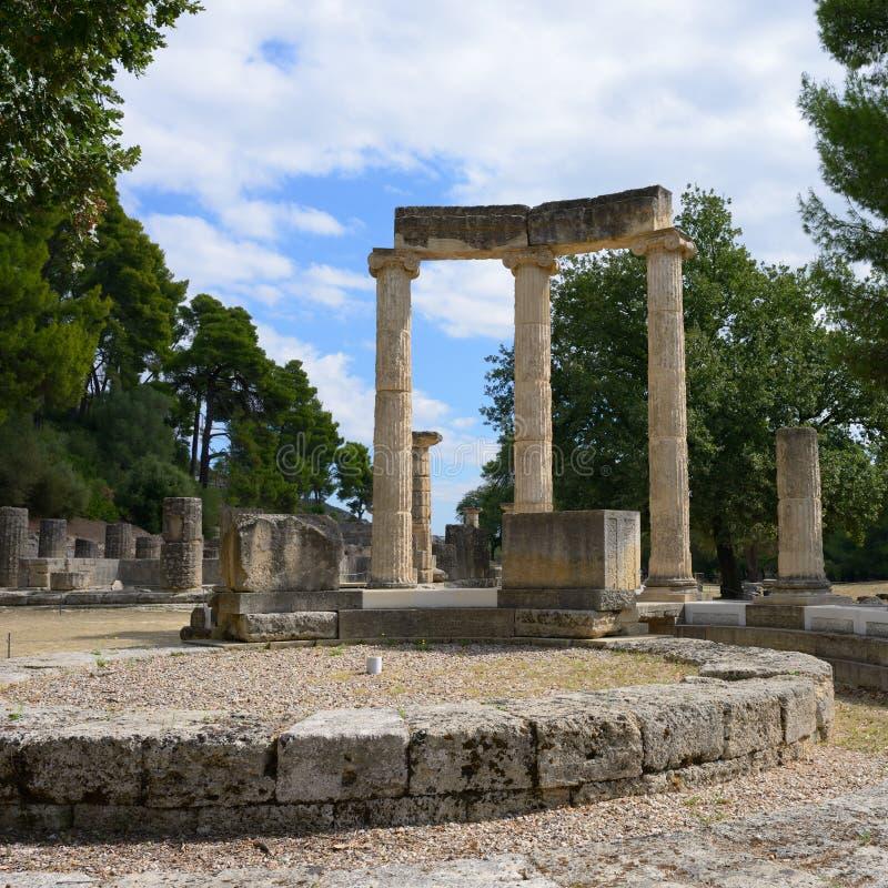 Начало Олимпии Греции Олимпийских Игр стоковые фотографии rf