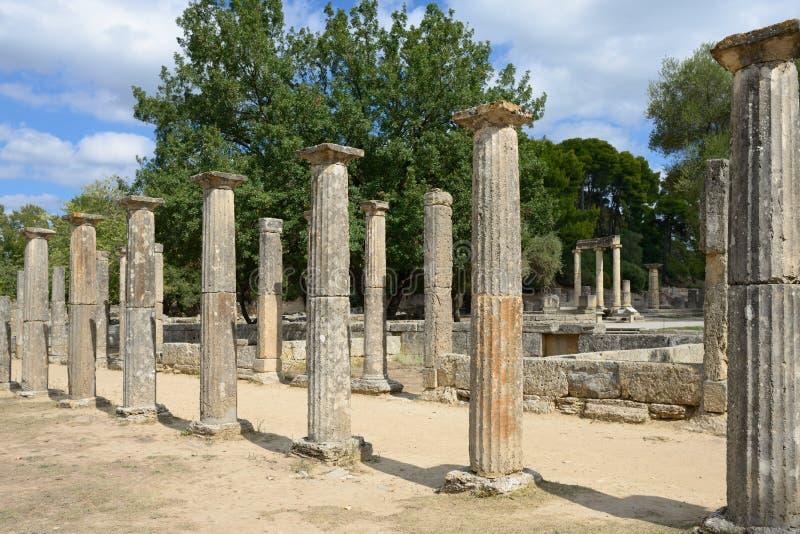 Начало Олимпии Греции Олимпийских Игр стоковые фото