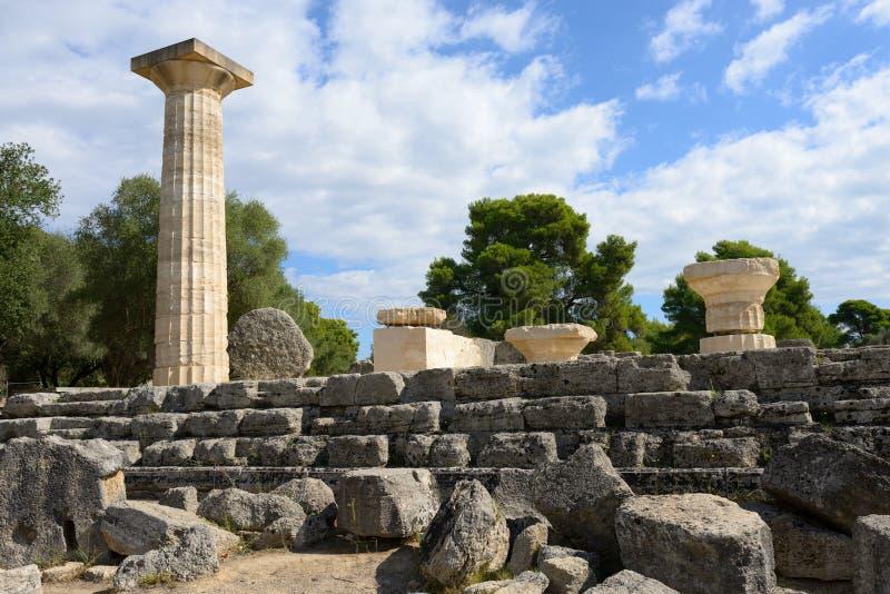 Начало Олимпии Греции Олимпийских Игр стоковое изображение rf