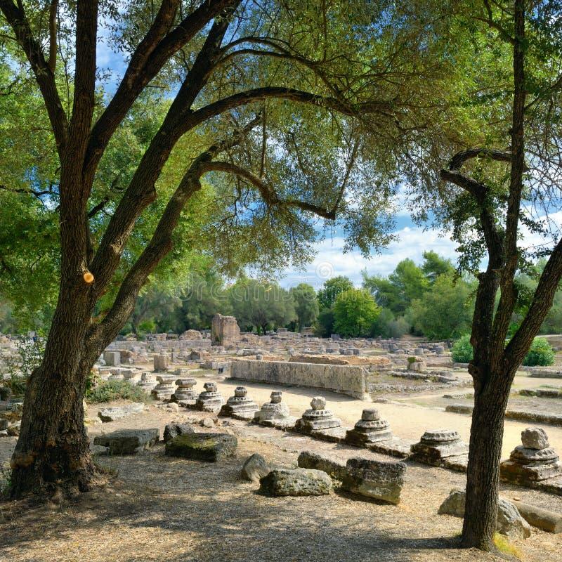 Начало Олимпии Греции Олимпийских Игр стоковые изображения
