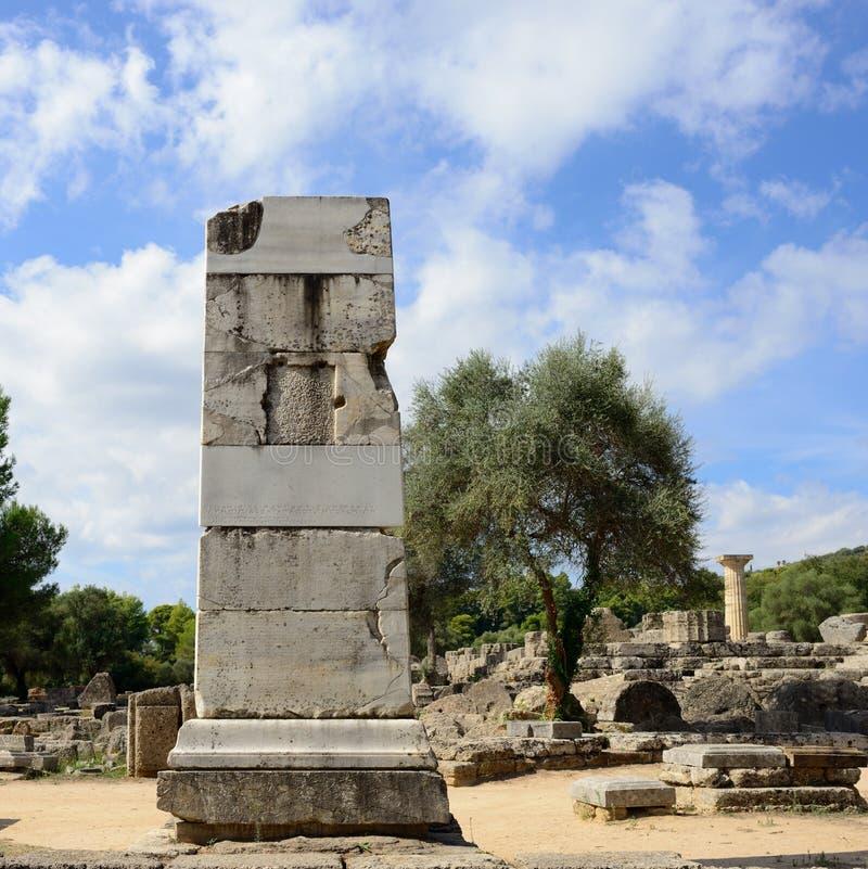 Начало Олимпии Греции Олимпийских Игр стоковое изображение